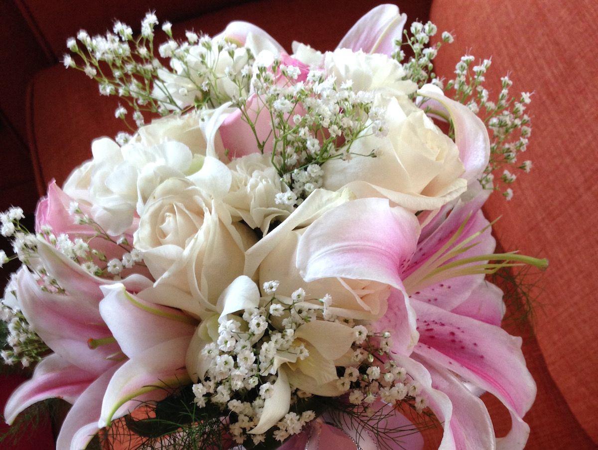 Romantic Ceremony Flower Bouquet